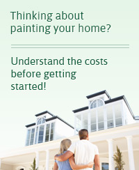 Thinking About Painting Your Home? Understand the costs before getting started with a free paint consultation!